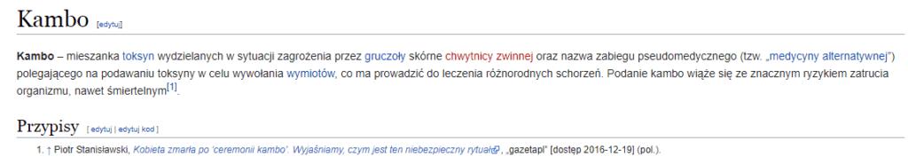 kambo wikipedia