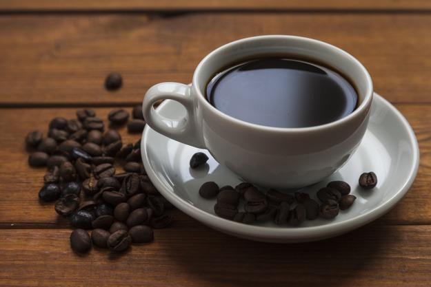 kawa ziarna palone kofeina