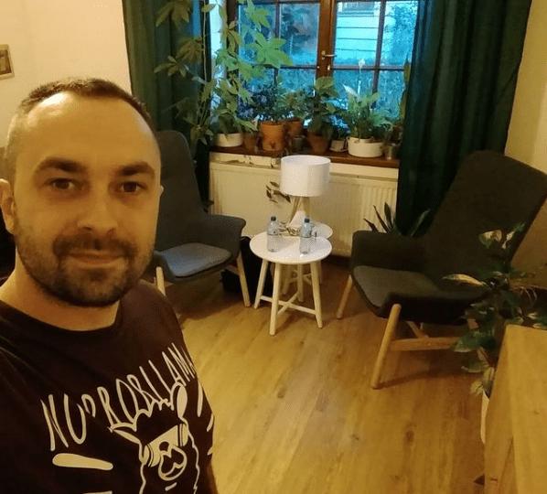 adrian kaczkowski terapia stres