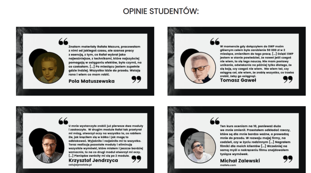 Szkoła wewnętrznego przywództwa opinie